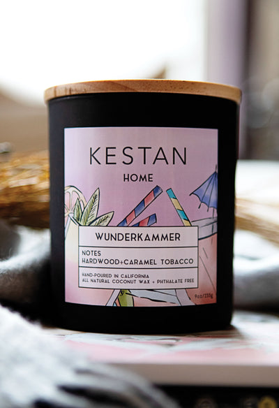 Wunderkammer - Candle - KESTAN Sustainable Modern Woman's Workwear