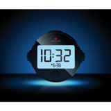 Alarm clocks for hearing impaired: Night time view of Bellman Alarm Clock Pro [BE1370]