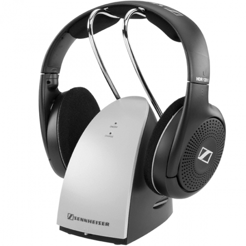 Headset for hearing impairedSennheiser RS 120 II Wireless Headphones, side-on view -  ezisound