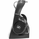 Headset for hearing impaired: Sennheiser RS 120 II Wireless Headphones, side view - ezisound