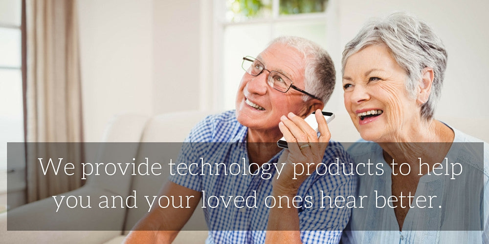 we provide assistive listening devices to help you hear better
