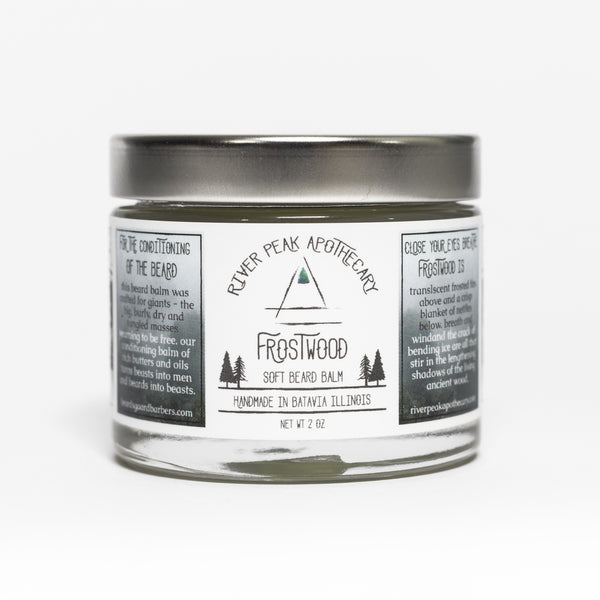 Frostwood • Soft Beard Balm • Winter