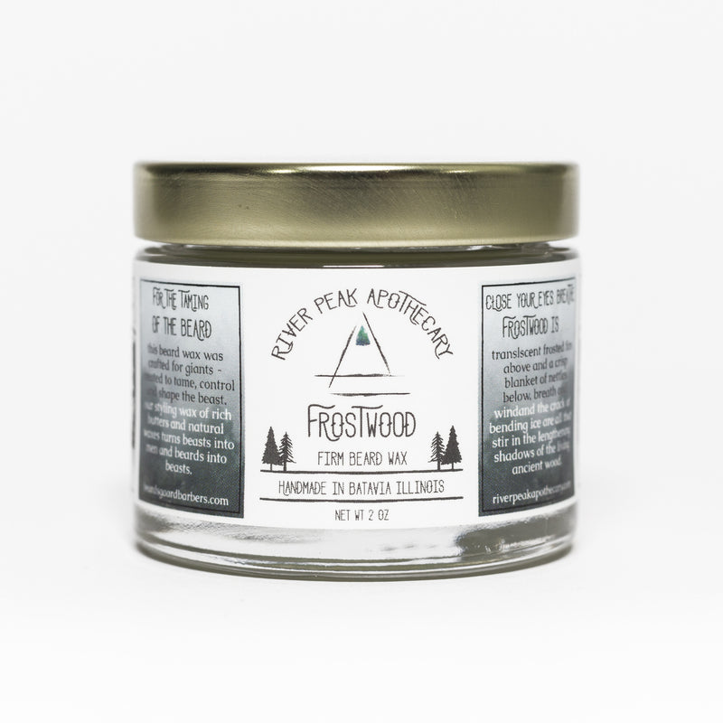 Frostwood Beard Wax • Winter