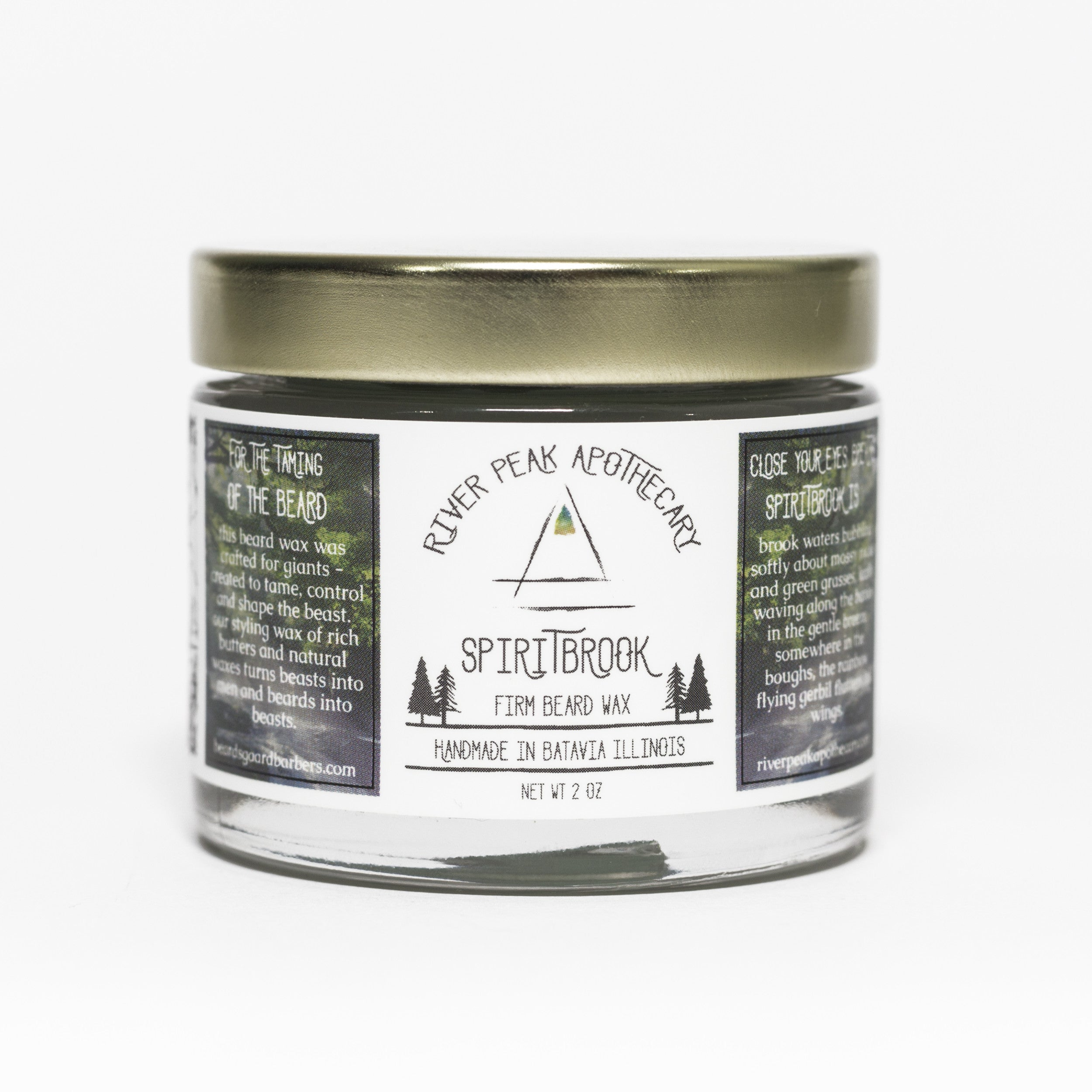 Spiritbrook Beard Wax • Gentle