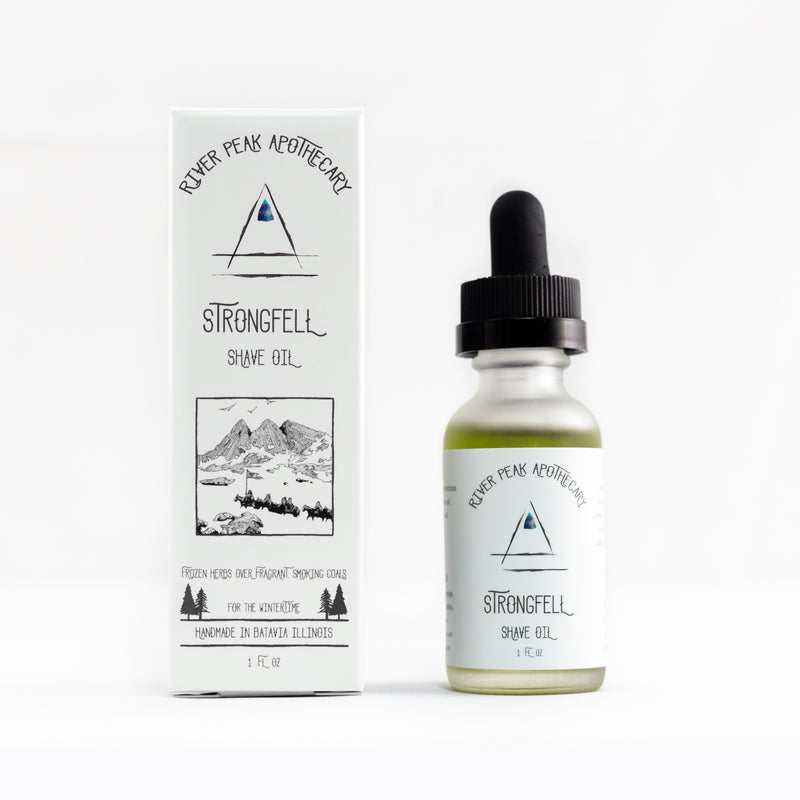 Strongfell Shave Oil • Winter