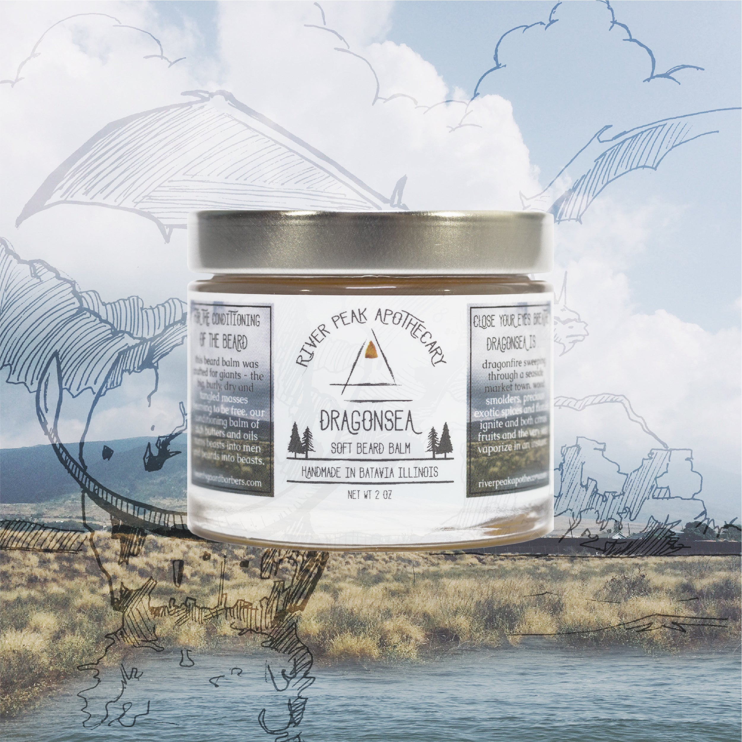 Dragonsea Beard Balm • Summer