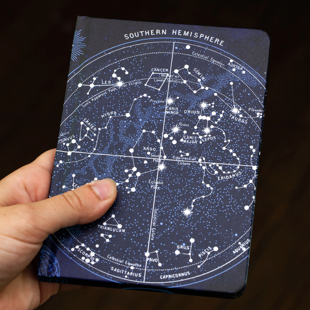 Mini Hardcover Notebook • Constellations