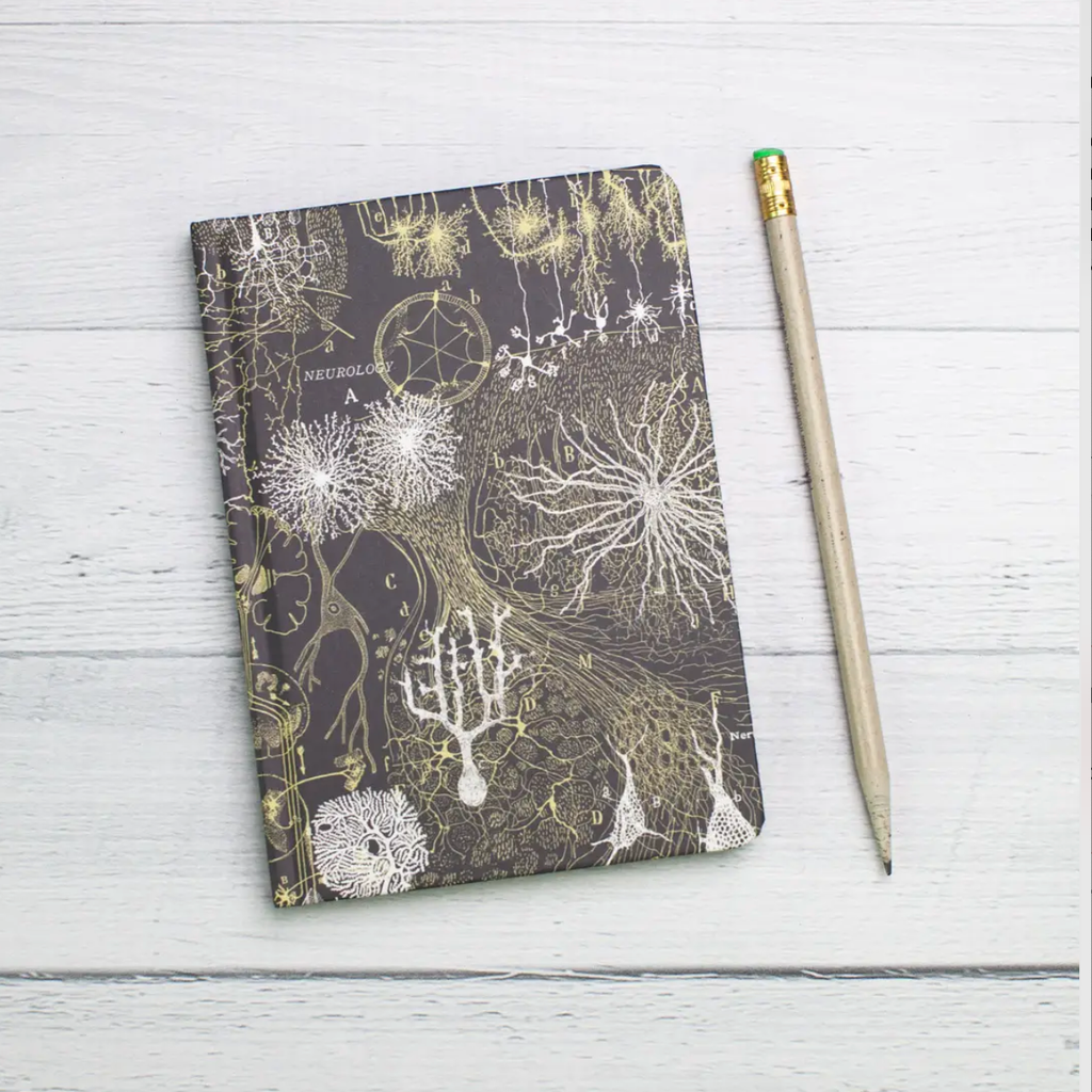 Mini Hardcover Notebook • Neurons
