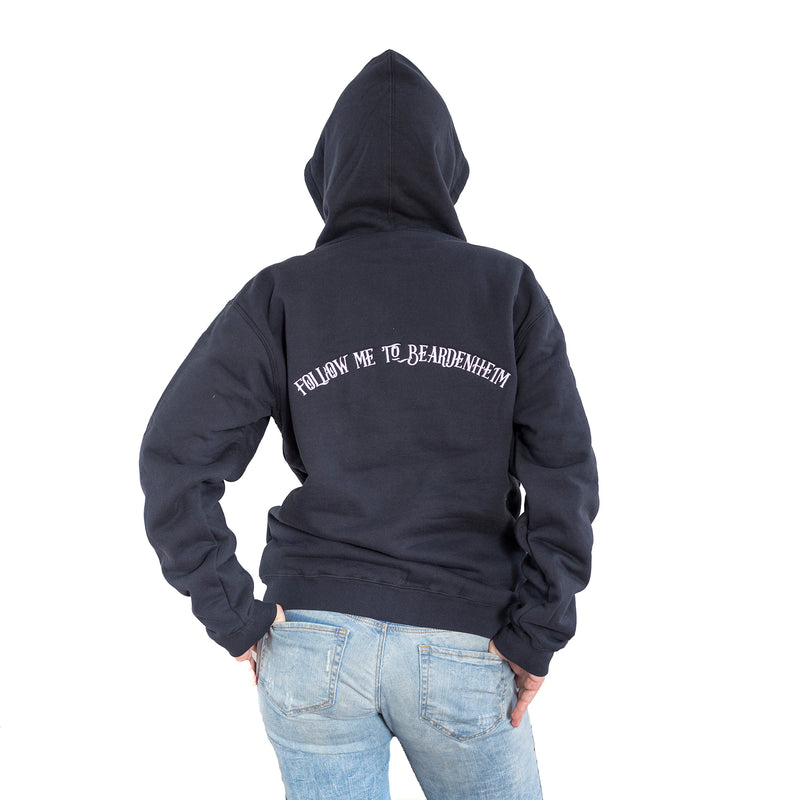 Hoodie • Sherpa Fleece-Lined Beardenheim Zip {Navy}