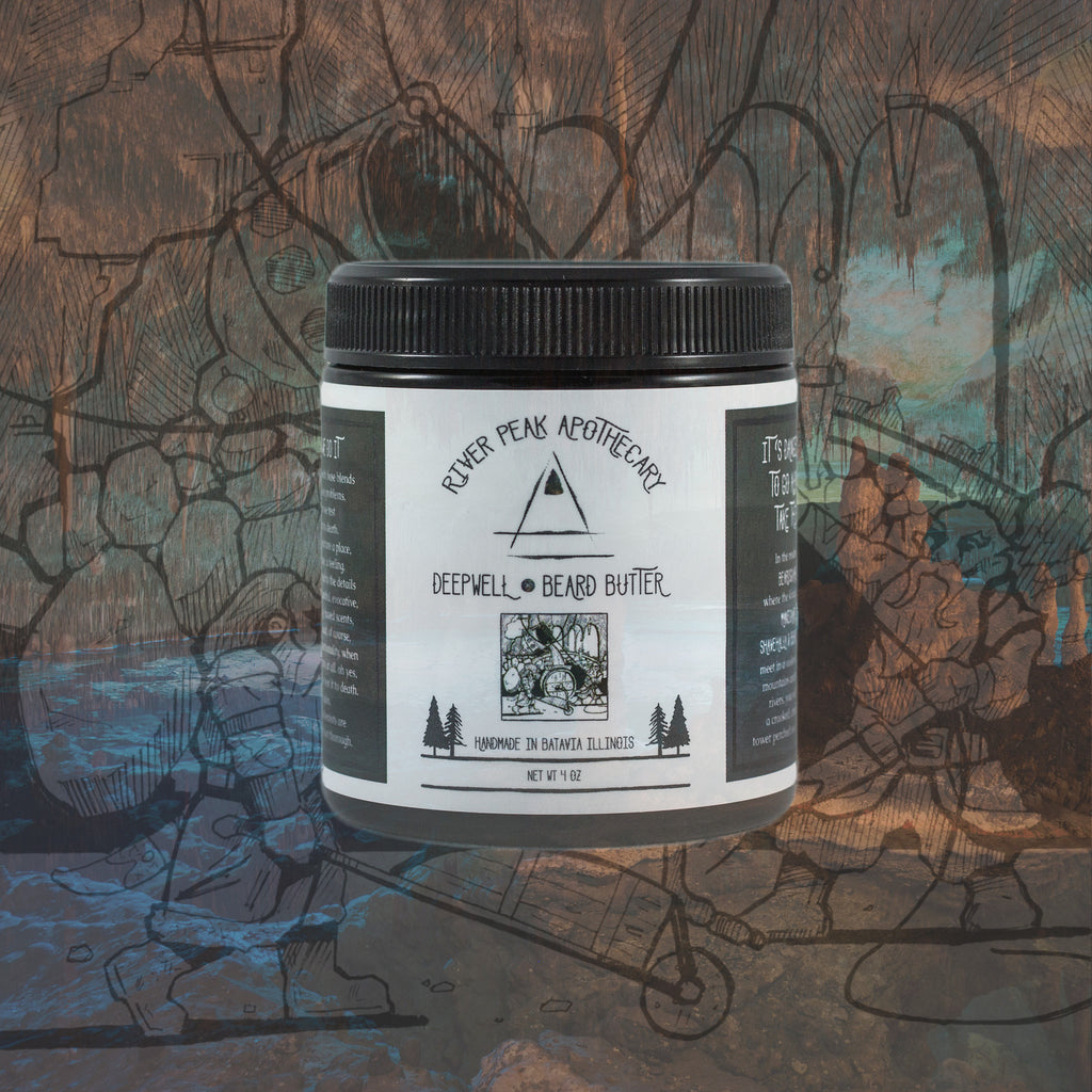 Deepwell • Beard Butter • No Scent Added