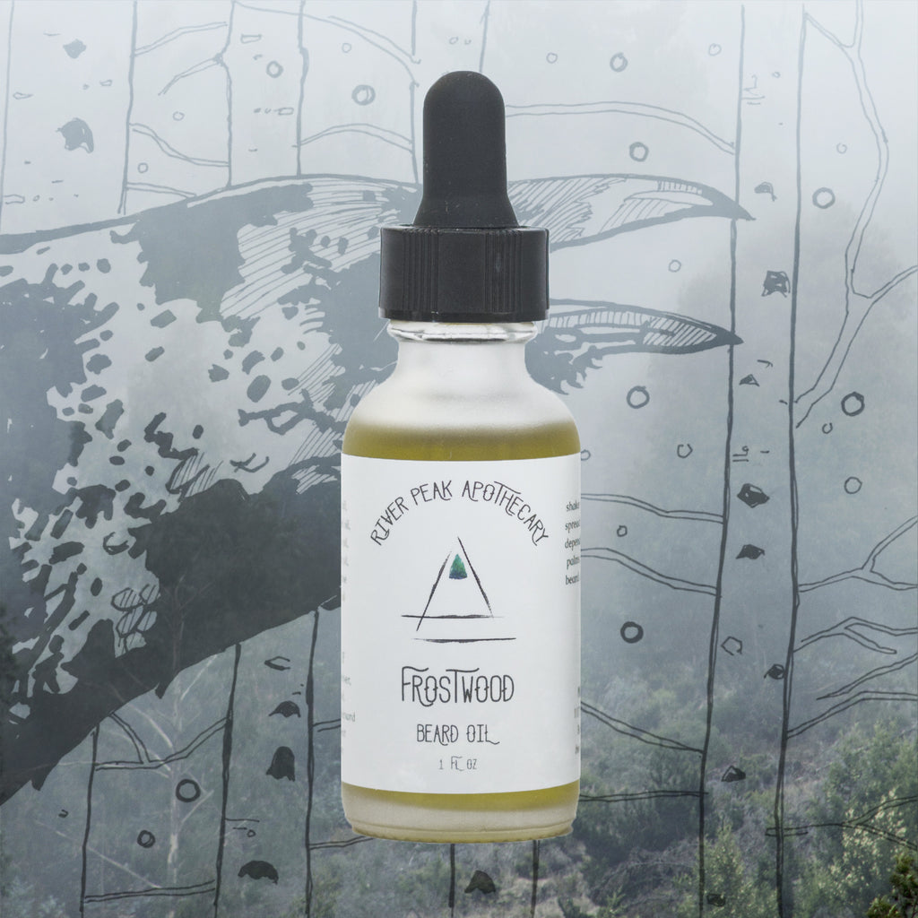 Frostwood Beard Oil • Winter {The Naked Sale}