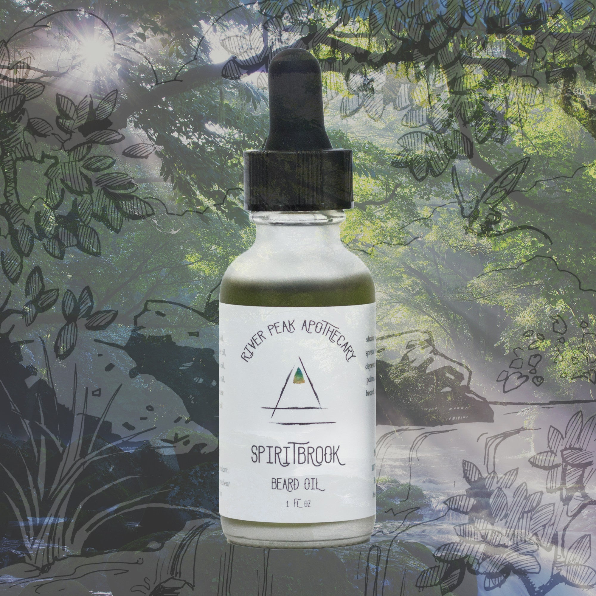 Spiritbrook Beard Oil • Gentle