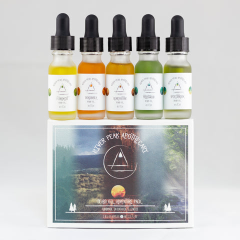 Adventure Pack • Seasonal Beard Oils