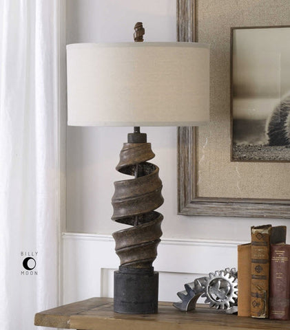 Abrose Twisted Table Lamp - Innovations Designer Home Decor