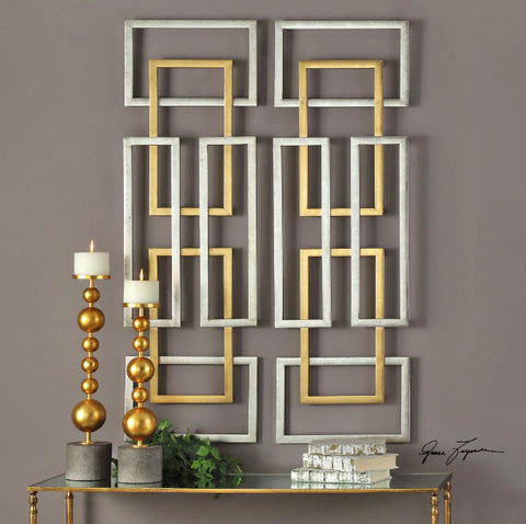 Aerin Geometric Wall Art - Innovations Designer Home Decor