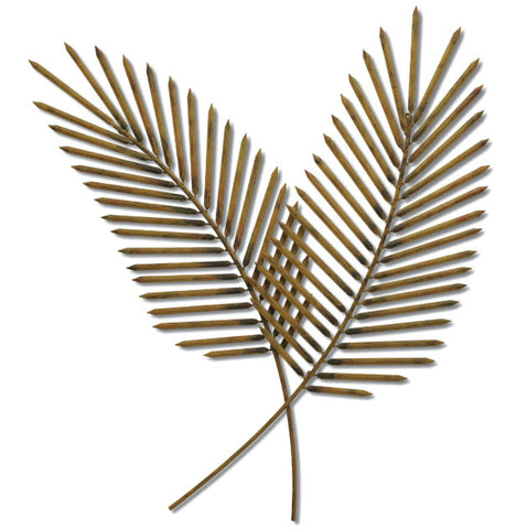 Airy Palms Tropical Wall Sculpture - Innovations Designer Home Decor
