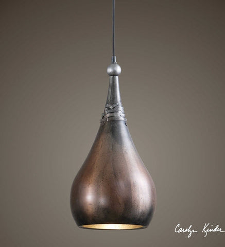 Alpena Washed Copper 1-Light Mini Pendant Lighting Fixture - Innovations Designer Home Decor