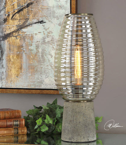 Alvarium Industrial Hurricane Accent Lamp - Innovations Designer Home Decor