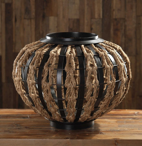 Aren Rope Woven Decorative Container - Innovations Designer Home Decor
