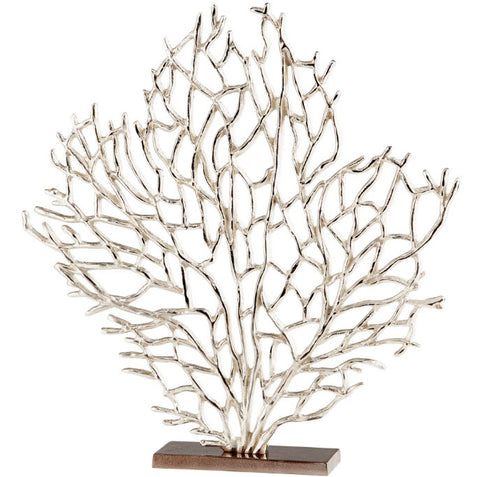 Ariana Large Nickel and Bronze Tabletop Sculpture - Innovations Designer Home Decor