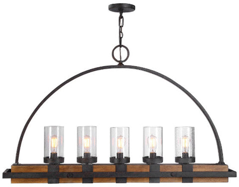 Atwood Farmhouse Style Island Lighting Fixture - Innovations Designer Home Decor