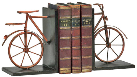 Bicycle Bookends - Innovations Designer Home Decor