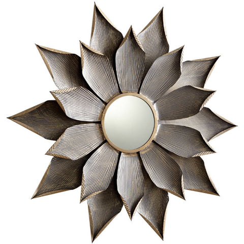 Blossom Transitional Small Starburst Wall Mirror - Innovation Designer Home Decor