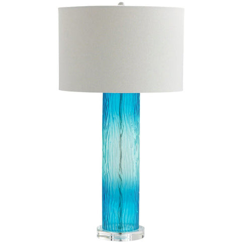Blue Dawn Glass Table Lamp - Innovations Designer Home Decor