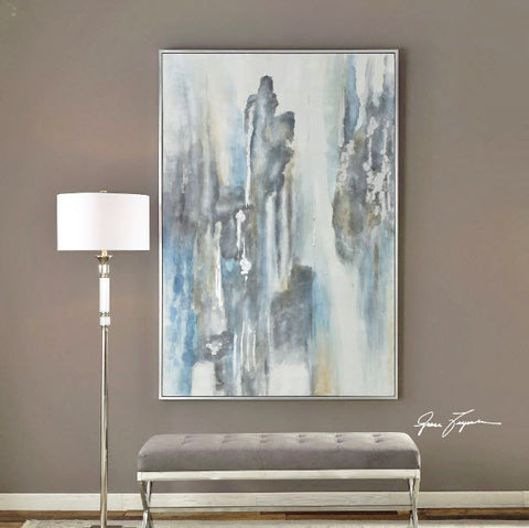 Celebrate Hand Painted on Canvas Abstract Artwork - Innovations Designer Home Decor