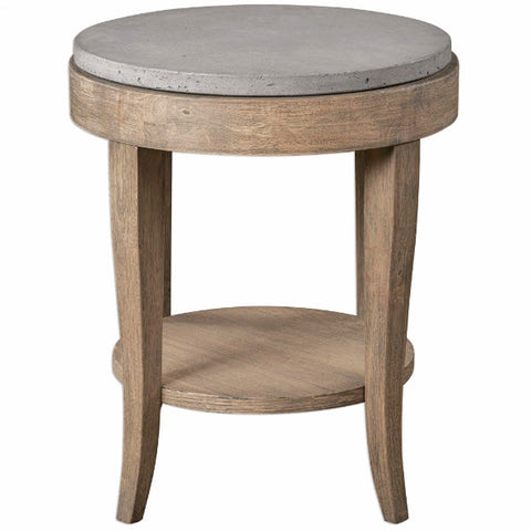 Deka Round Accent Table - Innovations Designer Home Decor