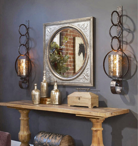 Falconara Candle Sconces   Innovations Designer Home Decor