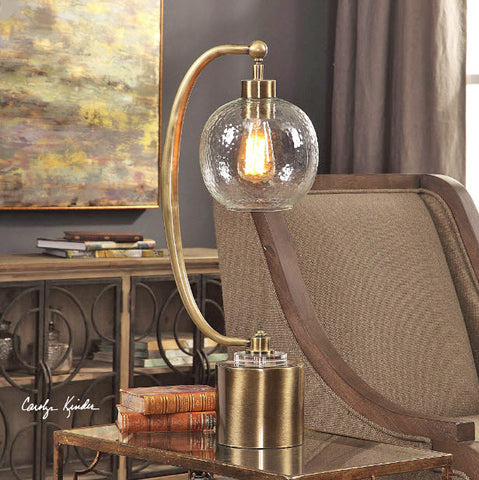 Gacinia Seeded Glass Globe Accent Lamp - Innovations Designer Home Decor