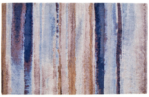Indigo Dreams Contemporary 5' x 8' Area Rug - Innovations Designer Home Decor