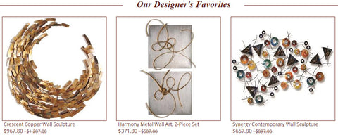 Designer's Favorites - Innovations Designer Home Decor