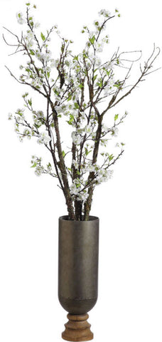 Lifelike Cherry Blossom Arrangement - Innovations Designer Home Decor