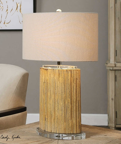 Lurago Bamboo Table Lamp - Innovations Designer Home Decor