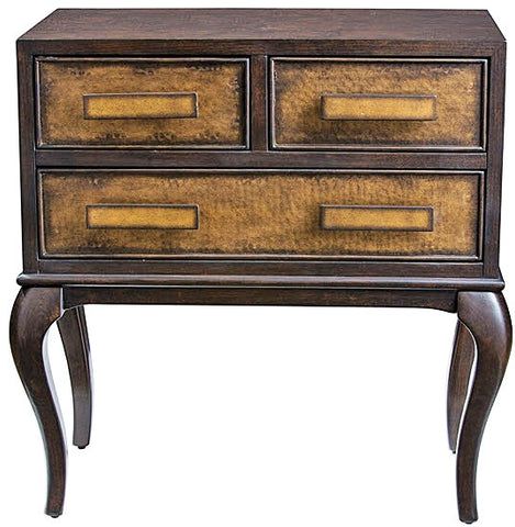 Mayra Ash Burl Accent Chest - Innovations Designer Home Decor