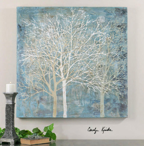 Muted Silhouette Hand Painted Artwork - Innovations Designer Home Decor