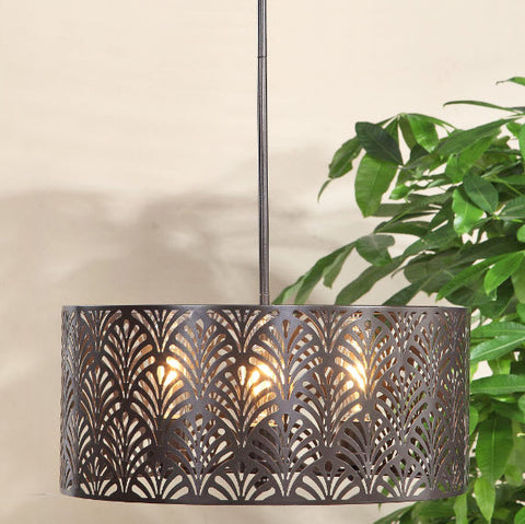 Myrtle Tropical Indoor Outdoor Pendant Lighting Fixture - Innovations Designer Home Decor