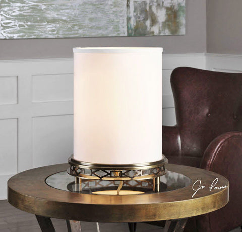 Navassa Cylinder Shade Accent Lamp - Innovations Designer Home Decor
