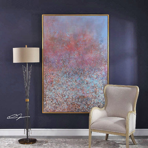 Patina Oversized Abstract Hand Painted Artwork - Innovations Designer Home Decor