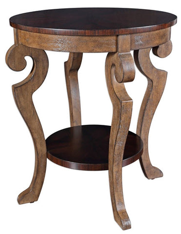 Reka Round Accent Table - Innovations Designer Home Decor