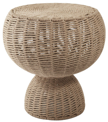 Rope Round Accent Table - Innovations Designer Home Decor