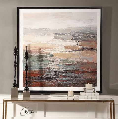 Tides Abstract Handpainted Artwork - Innovations Designer Home Decor