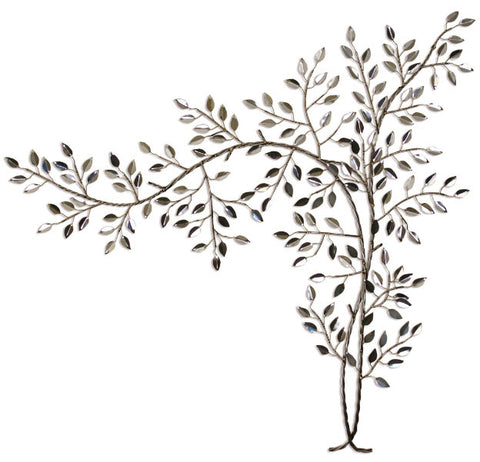 Tranquil Tree Stainless Steel Wall Sculpture - Innovations Designer Home Decor