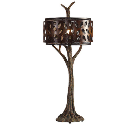 Tremula Whimsical Organic Tree Sculpture Table Lamp - Innovations Designer Home Decor