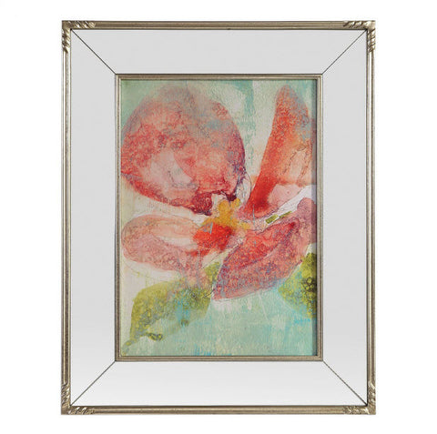 Veiled Poppy Floral Art - Innovations Designer Home Decor