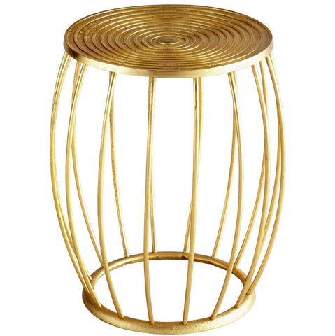 Zodiac Gold Stool - Innovations Designer Home Decor