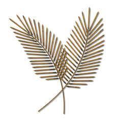 Airy Palms Tropical Metal Wall Sculpture, 2-Piece Set