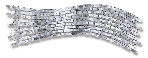 Transcendence Contemporary Stainless Steel Wall Sculpture